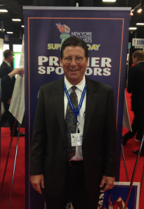 Don Thomas of Key Corporate Services attends Suppliers' Day, the premiere trade show event of the New York Society of Cosmetic Chemists (NYSCC)
