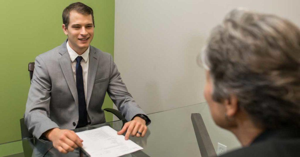 Man being Interviewed; Source:http://www.amtec.us.com