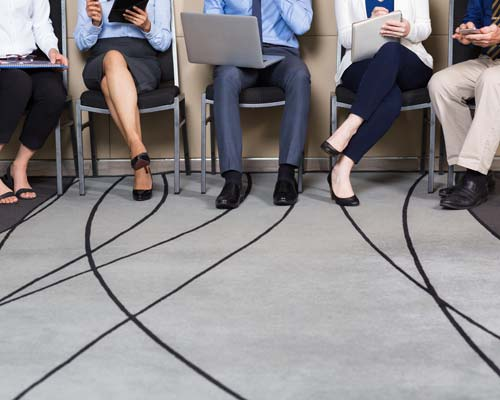 Executive Job Candidates waiting to be interviewed (source: freepik.com)